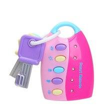 Детская игрушка, музыкальная машинка, ключ, Вокальный, смарт-пульт, автомобиль, голоса, ролевые игры, развивающие игрушки для детей, детские музыкальные игрушки, мигающие звуки