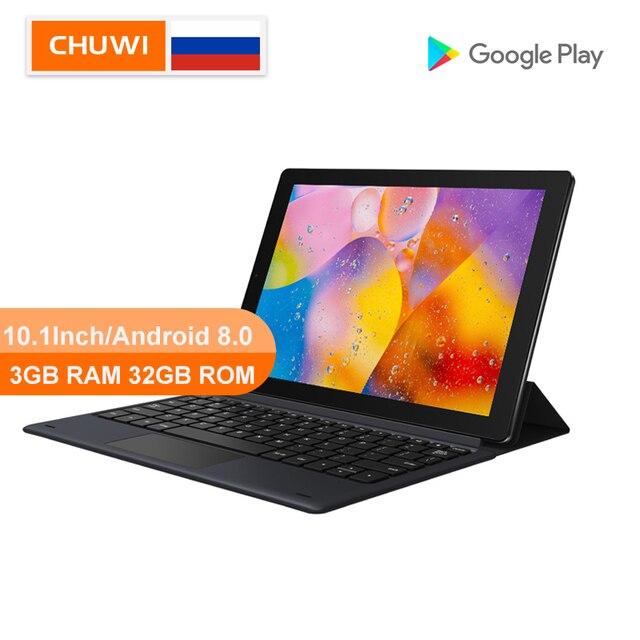 CHUWI Original HiPad LTE MT6797 X27 Deca Core 10,1 pulgadas Android 8,0 3GB RAM 32GB ROM 4G teléfono llame a la tableta 1920*1200 de resolución