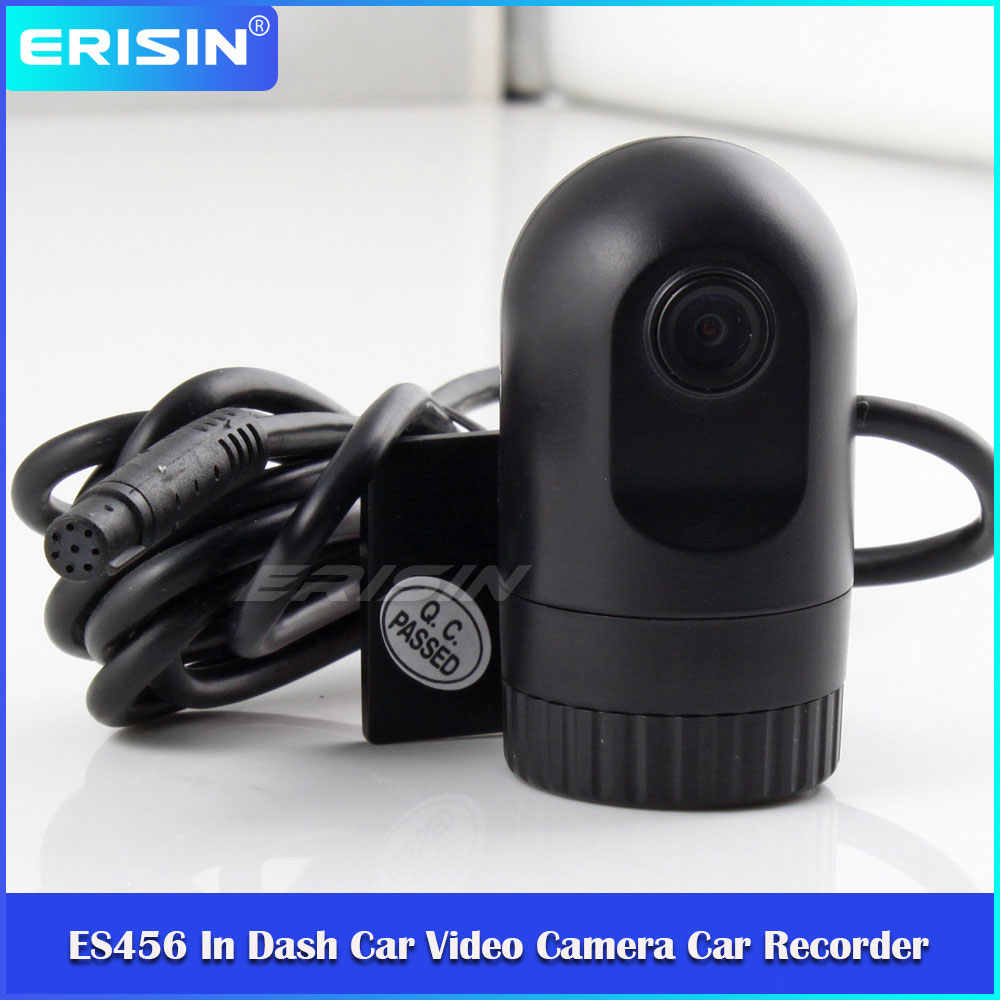 720P G-Sensor Di Dash Mobil Kamera Perekam Video DV Perekam DVR Kamera untuk Erisin Windows CE OS Radio ES456