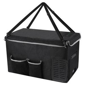 Joytutus 18L Car Refrigerator Storage Bag 25L Portable Carry Bag for Mini Fridge Keep Cooling Drip-proof