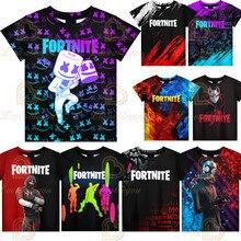 Cosplay Costume xxs - 4xl New 3D Printed T-shirt Men's Women's Tshirt Style Game Figure Pattern T Shirt Children's Birthday Gift