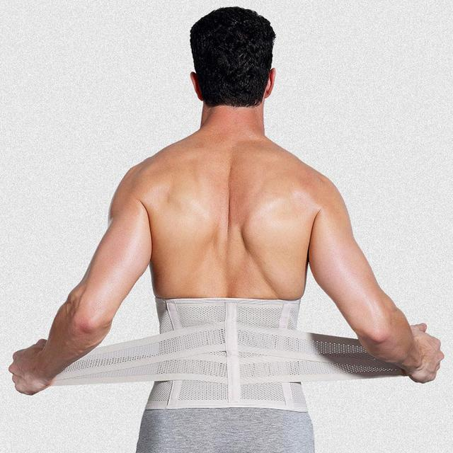 Unisex Body Slimming Waist Belt Shaper Trimmer Yoga Gym Elastic Training Strap Tummy Control Trainer Body Shaper