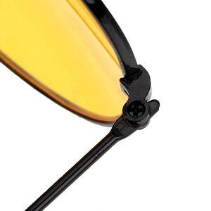 Image 5 - ראיית לילה עדשה צהובה משקפי קריאת זכוכית מגדלת עבור נשים גברים בחדות גבוהה Presbyopic טייס נהיגה משקפי שמש + 1.0 ~ + 4 n5
