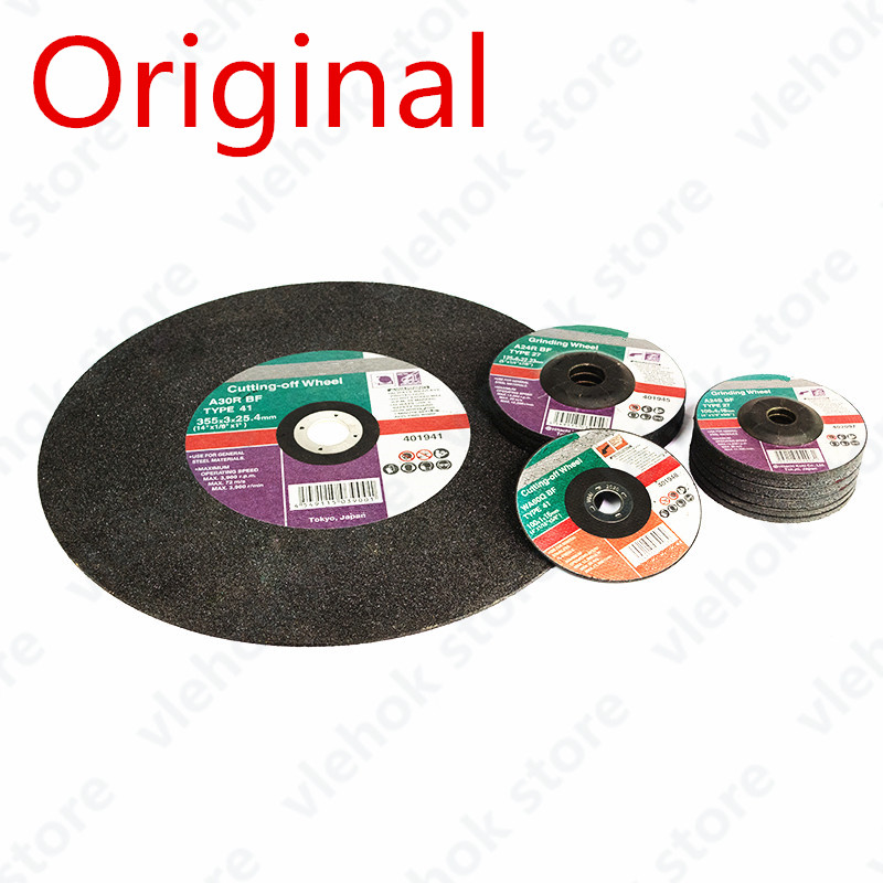 Grinding Metal Cutting Polish Wheels Sheet For HITACHI 100mm 125mm 180mm 355mm Angle Grinder Saw Blade Electric Tool Accessories