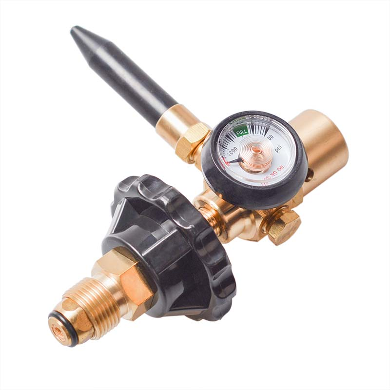 Balloon Inflatable Air Flow Device Valve Manometer for G5//8/Tank Valve Flow Control Inflator