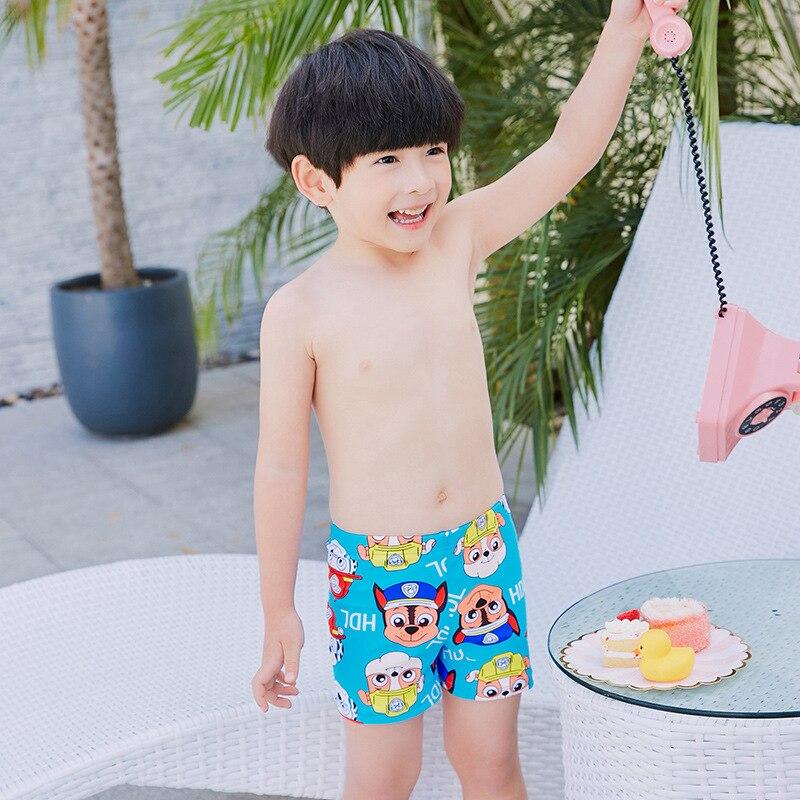 2019 Item Swimwear Cartoon Korean-style New Style Item Swimwear Cartoon Small CHILDREN'S Swimming Trunks
