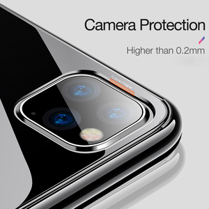 Image 2 - For iPhone 11 12 Case Slim Clear Soft TPU Cover Support Wireless Charging for iPhone 12 11 Pro Max 5.8in 6.1in 6.5in X XR XS MAX