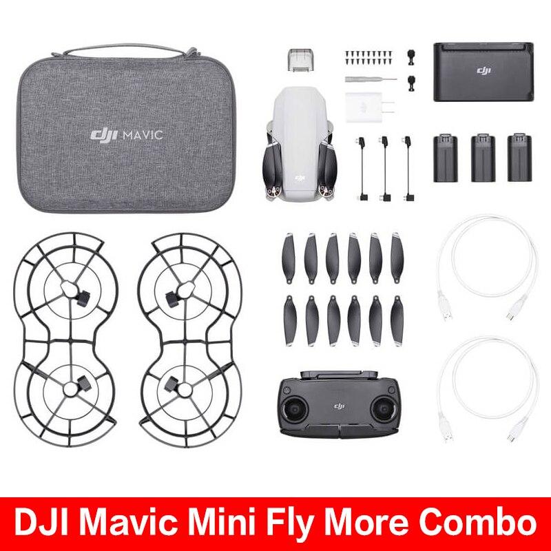 Original DJI Mavic Mini fly More Combo/Mavic Mini Drone with 2.7k Camera is Minimum Mavic Drone flight Time 30 Minutes on AliExpress
