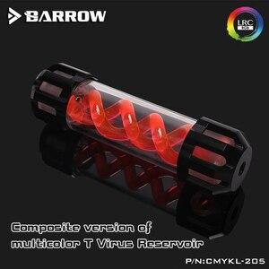 Image 5 - Barrow DNA спиральный резервуар с алюминиевой крышкой + акриловый корпус резервуар для водяного охлаждения 160/210/260/310 мм LRC 2,0 5 в RGB CMYKL