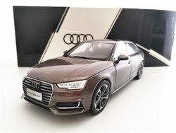 1/18 Audi A4L коричневая модель автомобиля