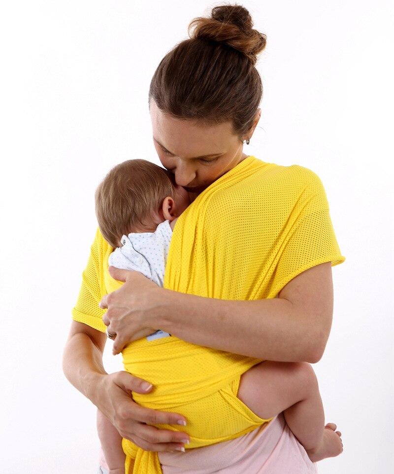 9 Colors Ergonomic Breathable Mesh Cross Holding Type Baby Sling Strap Multi-function Baby Child Carrier Suspender Waist Straps