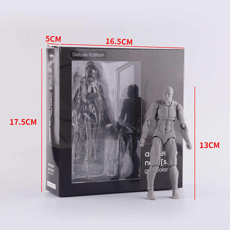 Anime Archetype Hij Ze Ferriet Figma Movable Body Feminino Kun Body Chan Pvc Action Figure Modellen Speelgoed Poppen Voor Collectible