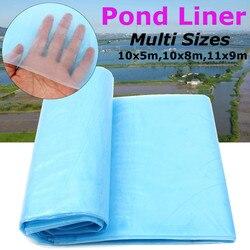 3 размера синий ПЭНД Рыбный Пруд Лайнер садовые бассейны усиленный ПНД тяжелый Ландшафтный бассейн водостойкий материал для подкладки