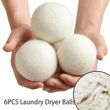 Hot Wool Dryer Balls Reusable Softener Laundry 5cm Laundry Ball Home Washing Balls Wool Dryer Balls Washing Machine accessories