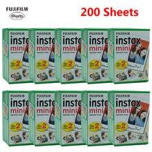 Fujifilm instax mini filme branco 10-200 folhas para fuji câmera fotográfica instantânea mini 9 mini 8 7s 70 90 fujifilm instax mini filme