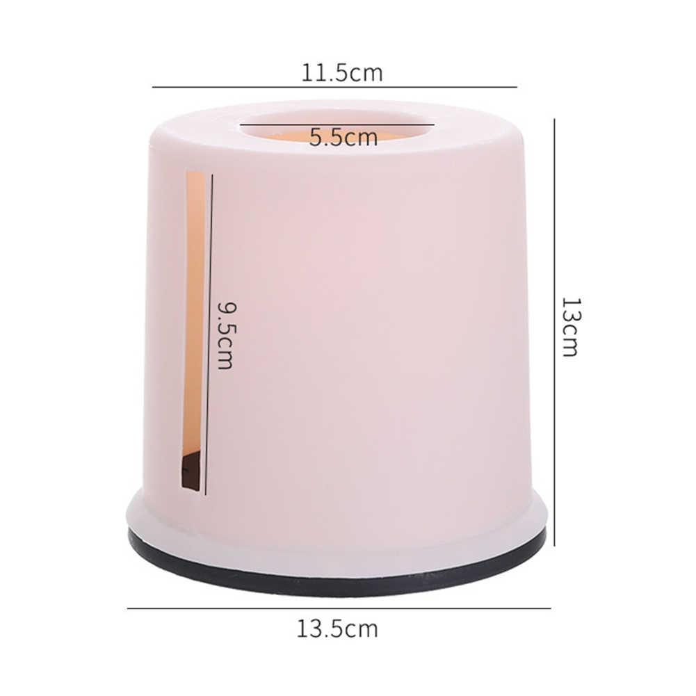 Plastic Roll Paper Towel Tissue Box Storage Case Car Desktop Napkins Holder Home Supplies
