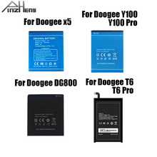 2019 PINZHENG Original Mobile Phone Battery For Doogee X5 X 5 Y100 T6 Pro DG800 High Quality Replacement With Gift