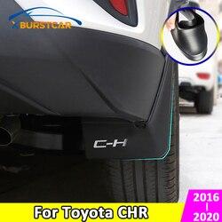 Flaps da lama do carro de xburstcar para toyota C-HR chr 2016 - 2020 mudflaps respingo guardas dianteiro traseiro para-lamas acessório do automóvel