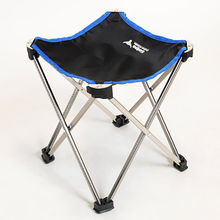 Outdoor folding stool portable chair lounge chair ultra light aluminum alloy fishing stool foldaway garden recliner outdoor fishing stool seat outdoor tourism lounge chair free shipping