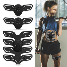 цена на Abdominal Muscle Trainer Arm Pad Exercise EMS Stimulation Training Muscle Stimulator Gear Body Massager Fitness Gym Equipment