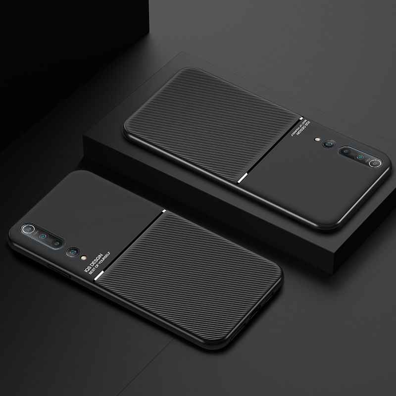 Dành Cho Xiaomi Redmi Note 7 8 9 Pro Ốp Lưng Mờ Sọc Dành Cho Xiaomi 9 10 Cc9 Pro 9se Cc9e PC ốp Lưng Silicon Redmi 8T K20 K30 Pro