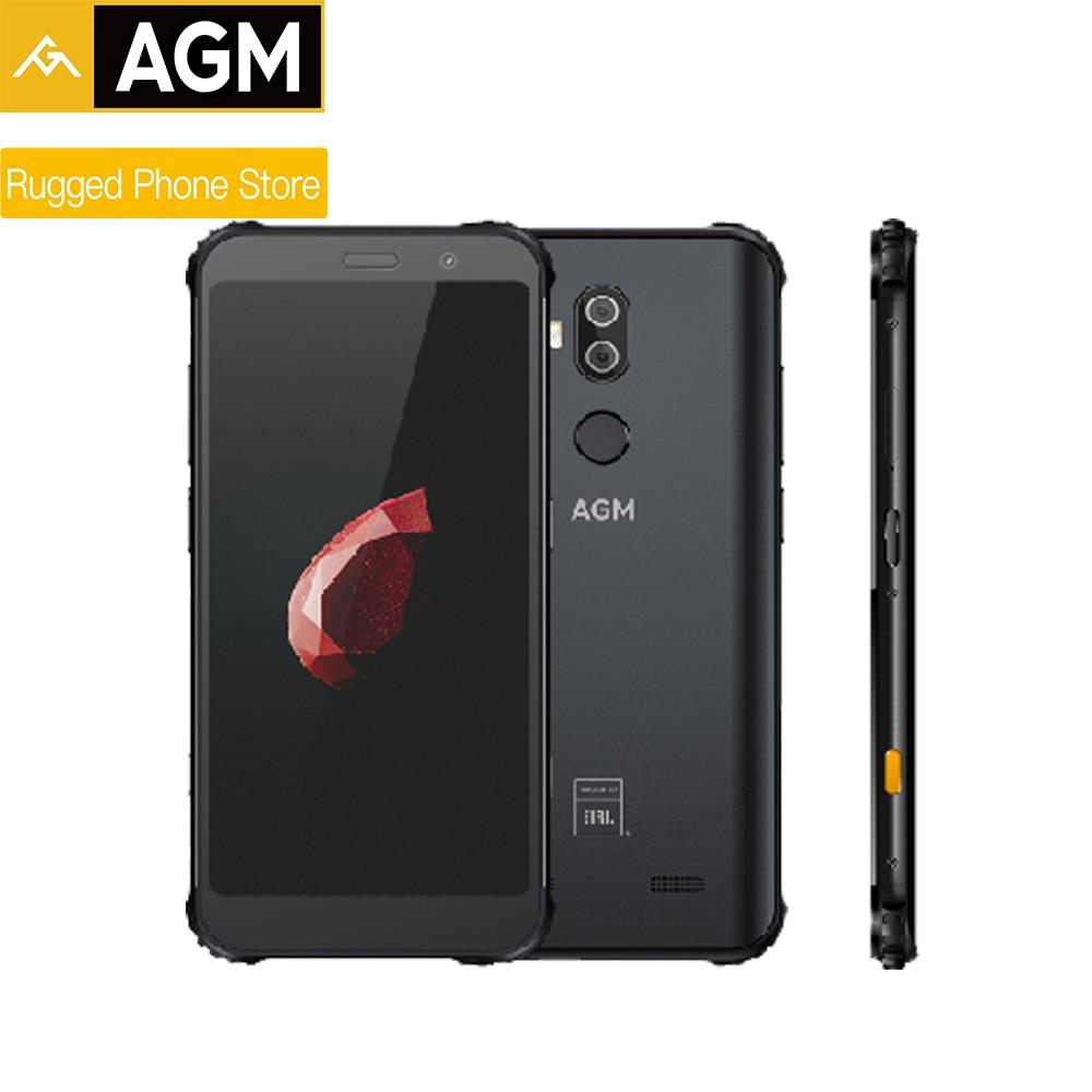 AGM X3 Snapdragon845 5,99 ''8G + 128G SDM845 4G Прочный смартфон Android 8,1 IP68 водонепроницаемый мобильный телефон двойной ящик динамик NFC
