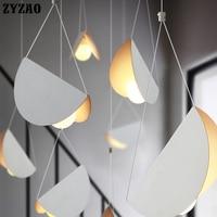 Designer Simple Modern Creative Personality Hanglamp Restaurant Bar Bedroom Cafe Pendant Lamp Dining Room Iron Art Pendant Light