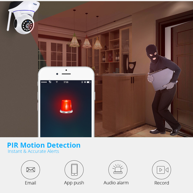 KERUI 720P 1080P HD Wifi Wireless Home Security IP Camera Security Network CCTV Surveillance Camera IR Night Vision Baby Monitor 1
