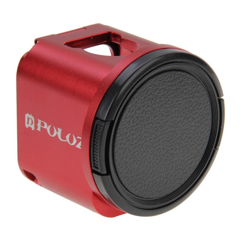 Pour GoPro Hero 5 4 Session Action caméra Cage de protection cadre coque avec 52mm UV lentille filtre pour Go Pro