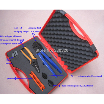 Solar PV Tool Kits,solar Tool Box For solar connector, Multifunction Solar Kit include Crimping/Cutting/Stripping Plier