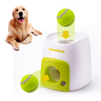 QQQPET Dog Pet Toys Throwing Mmachine Pet Ball Throw Device Emission With Ball Interactive Fetch Ball Tennis Launcher