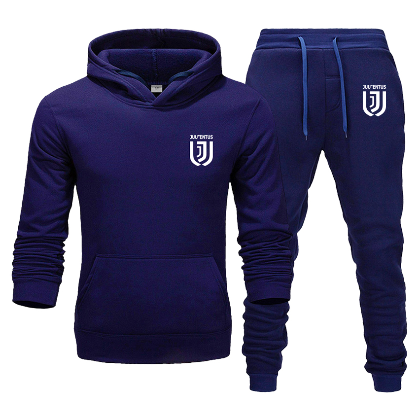 Men's Suit Casual Sports Hoodie Sports Casual Pants Autumn And Winter Warm Sportswear Men And Women Boutique 2 Piece Set