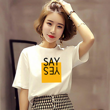 White T Shirt Women Tshirt Top Best Friends T-shirt O-Neck Short Sleeve Female Tee Tops Casual Woman Clothes