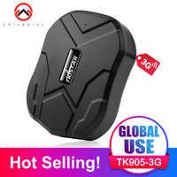 3G GPS Tracker Auto 60 Giorni In Standby Tkstar TK905 2G/3G GPS Locator Impermeabile Inseguimento Del Veicolo magnete Monitor di Voce di Trasporto Web APP