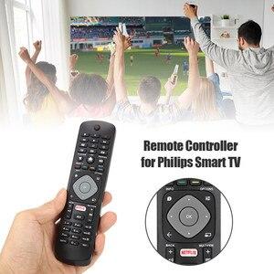 Image 3 - החלפת שלט רחוק ביתי טלוויזיה מרחוק בקר להחליף עבור פיליפס חכם טלוויזיה YKF347 003 אוניברסלי שחור
