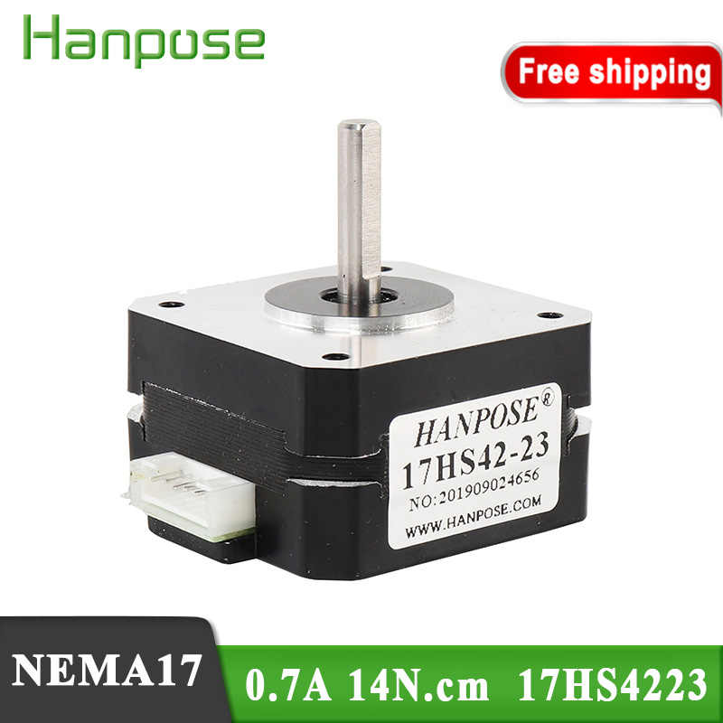 MAYOUTH 42mm Stepper Motor for 3D Printer CNC Computerized Numerical Control 17HS4401 Geared Stepper Motor