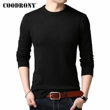 COODRONY Brand Sweater Men Classic Casual O-Neck P
