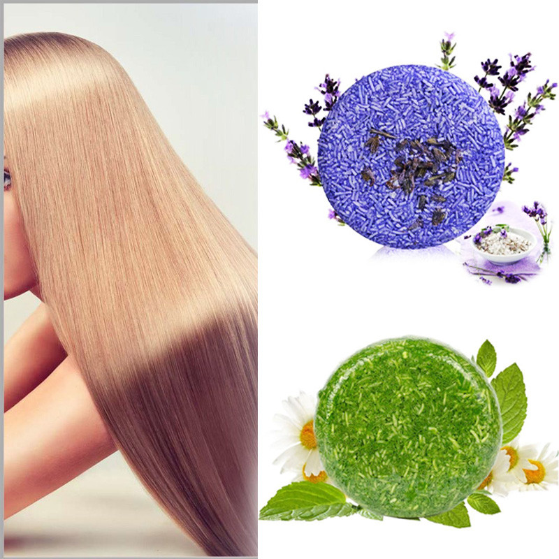 Hot Sale Handmade Pure Plant Hair Shampoo Soap Fragrant Jasmine Shiny Smooth Magic Hair Soap Deep Nourish Repair Hair Care Tool