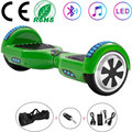 Ховерборд 6 5 Дюймов Электрический скутер зеленый самобалансирующийся Скутер 2 колеса балансировочная доска скейтборд LED Bluetooth + дистанционн...