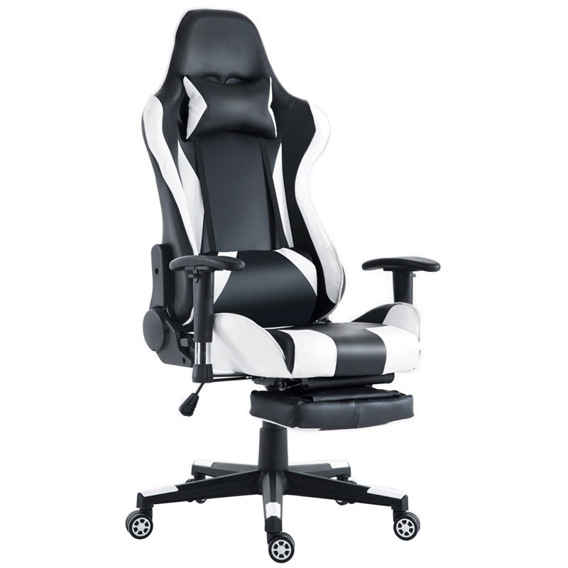 High Back Racing Recliner Gaming Chair With Footrest Office Chair Desk Computer Chair Silla Gamer Armchair Office Furniture