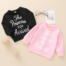 Hoodies Sweatshirts Baby-Girls-Boys Infant Spring 0-3years Tops Outfits Letter Long-Sleeve
