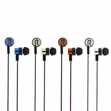 5 Colors Earphones Sports Running Noise Isolating Stereo 1.1M in-Ear 3.5mm Media Player Music Earphone Stereo Music Headphone 828 big sale se535 detchable earphone 2 colors hi fi stereo headphone se 535 in ear earphones with retail box vs se215 se 215