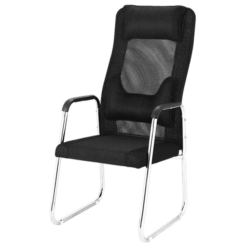 Bow Student Backrest Chair Lazy Person Net Chair Simple Home Computer Chair Clerk Leisure Breathable Office Boss Chai