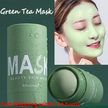 Zielona herbata maska stick nawilżający nawilżający stałe maska wybielanie głębokie oczyszczanie kontrola oleju usuwanie trądziku maska pielęgnacja skóry tanie i dobre opinie harupink CN (pochodzenie) Jedna jednostka Brak Green Tea Solid Mask Drop shipping wholesale