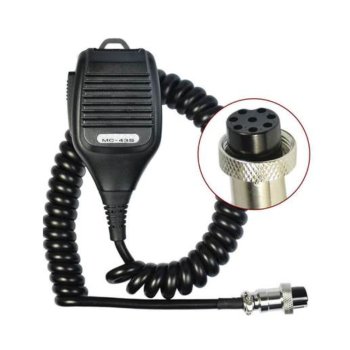 MC-43S 8 PIN Dynamic Hand Fist Microphone Amateur Radio For Kenwood TS-480HX TM-231 TS-590S TS-990S TS-2000X TS-480SAT image