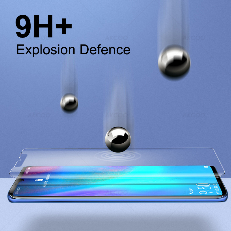 Akcoo P30 Pro Tempered Glass UV full glue for Huawei P30 Pro screen protector P30 lite 10D UV Glass film with Oleophobic Coating in Phone Screen Protectors from Cellphones Telecommunications