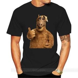 Grid Shirt Man Boy ALF TV Series Television Years 80 90 Nerd T-Shirt cotton tshirt men summer fashion t-shirt euro size