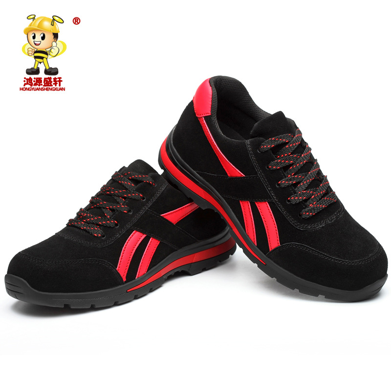 Safety Shoes Wholesale Fashion & Sports Anti-smashing And Anti-penetration Safety Shoes Wear-Resistant Breathable Steel Head Saf