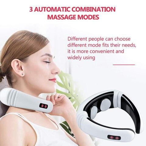 pescoco ombro massageador eletrico inteligente cuidados