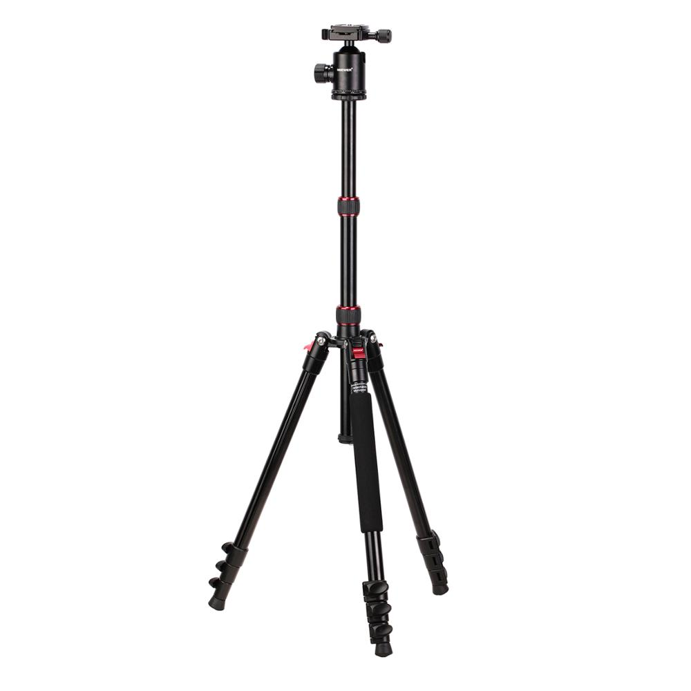 Neewer Phone Tripod, Cell Phone Tripod 54 inch Travel Tripod Stand with Remote, Cellphone Mount Holder and 3-way Pan Head